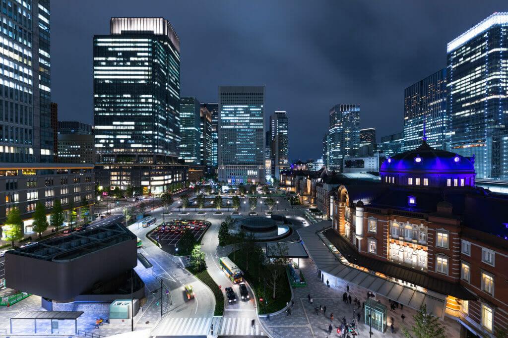 東京・都会・夜景