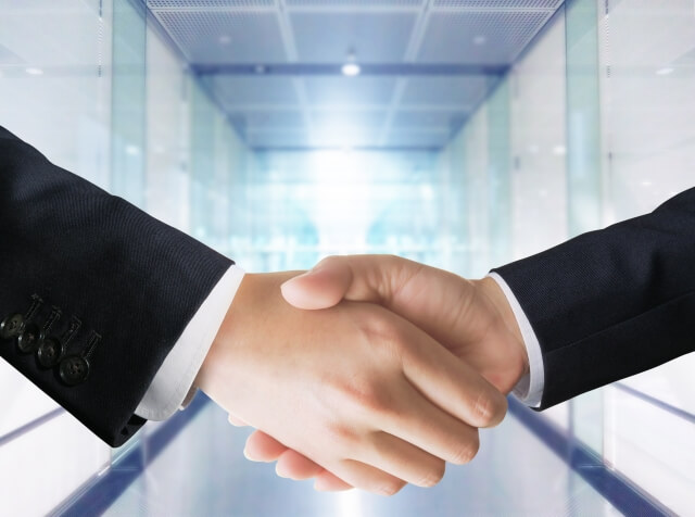 提携・協力・握手